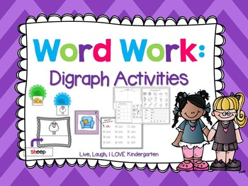 Word Work: Digraph Actvities