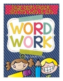 Word Work - Digraph Packet