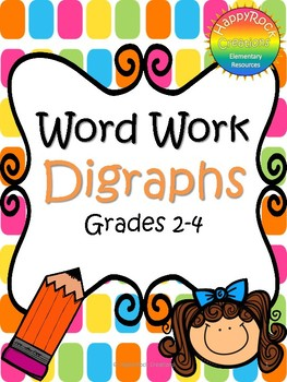 Word Work - Digraphs