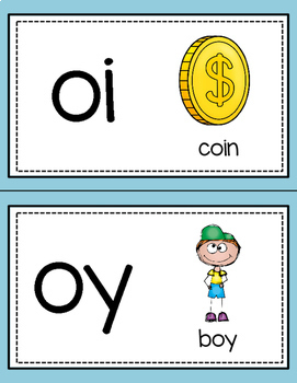 Word Work: Diphthongs oi and oy