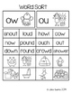 Word Work: Diphthongs ou and ow