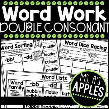 Word Work Double Consonant