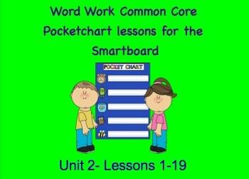 NYS Common Core ELA Skill Strand Unit 2 for First Grade (Smartboard)