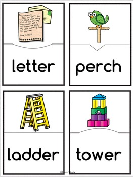 Word Work ER Words (R Controlled Vowels)