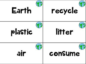 Word Work - Earth Day