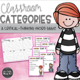 Word Work: English-Language Arts Game