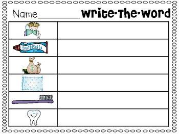 Word Work {February}