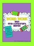 Word Work - Final Consonant Blends