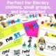 First Grade Word Work BUNDLE: Levels E-J
