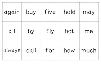 Word Work Flashcards- Freebie!!
