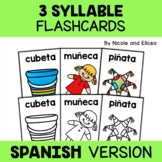 Word Work Flashcards - Spanish Syllables 2