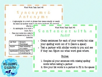 Word Work For Upper Primary