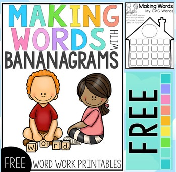 Word Work Center Free