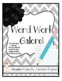 Word Work Galore! - Word Work Practice for Any Word List!