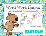 Word Work Games Bundle (Go Fish & Word Puzzles)