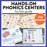 Phonics Games - Digraphs, Blends, Short & Long Vowels!