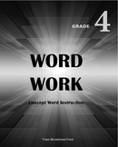 Word Work Grade 4 - Complete Curriculum