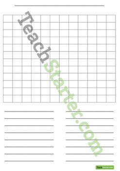 Word Work Grid and Worksheets