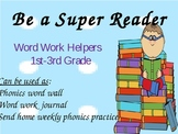Word Work Helpers (Long + Short Vowel, R controlled, Blends)Class Charts/Posters