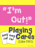Long A and E Game Cards