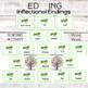 ER EST ED ING Inflectional Endings Word Work   Word Endings (138 cards)