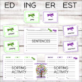 ER EST ED ING Inflectional Endings Word Work   Word Ending