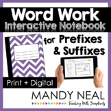 Prefixes and Suffixes Activities | Print + Digital