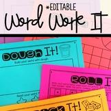 Sight Word Activities   Word Work It!