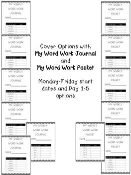 Word Work Journal