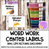 Word Work Labels (FREEBIE)