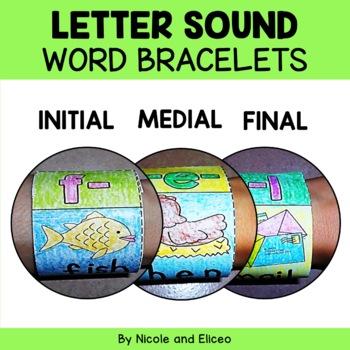 Bracelet Crafts - Phonics Letter Sounds