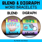 Bracelet Craft - Phonics Blends and Digraphs