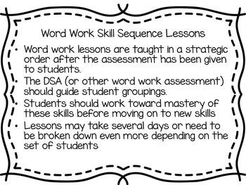 Word Work Lessons Magic E Unit