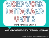 Word Work Letterland Unit 3: Short i Word Families