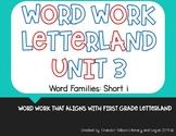 Word Work Letterland Unit 3: Short i Word Families
