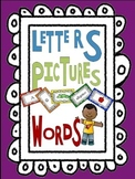 Word Work: Letters-Pictures-Words