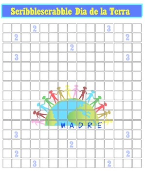 16 Special Day Scribblescrabbles (English, French, Spanish & Generic grids)