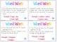 Word Work Literacy Center