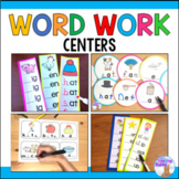 Word Work Literacy Centers Bundle