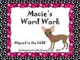 Word Work Literacy Work Mats