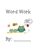 Word Work Literacy by Design 2nd grade Theme 11&12