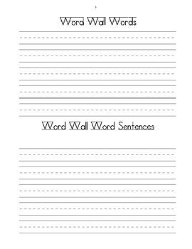 Word Work Literacy by Design 2nd grade Theme 13&14