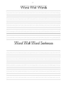 Word Work Literacy by Design 2nd grade Theme 5&6