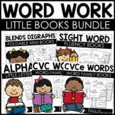 Word Work Little Books Bundle