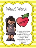 Word Work - Long U Phonics Centers