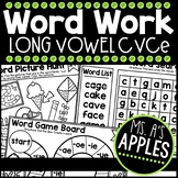 Word Work Long Vowel CVCe