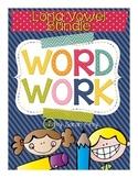Word Work - Long Vowel Pack