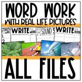 Vowel Teams, Digraphs, and Blends Word Work MEGA BUNDLE