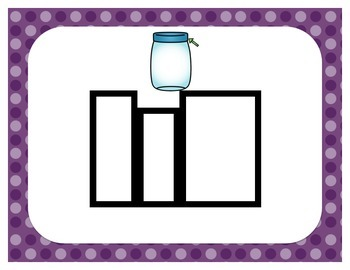 Word Work {Magnetic Letters} CVC Words {Short i}