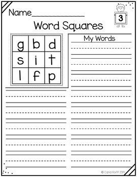 Short Vowels & Blends - Word Work & Spelling Bundle